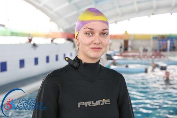 Марина Терещенко, инструктор по плаванию