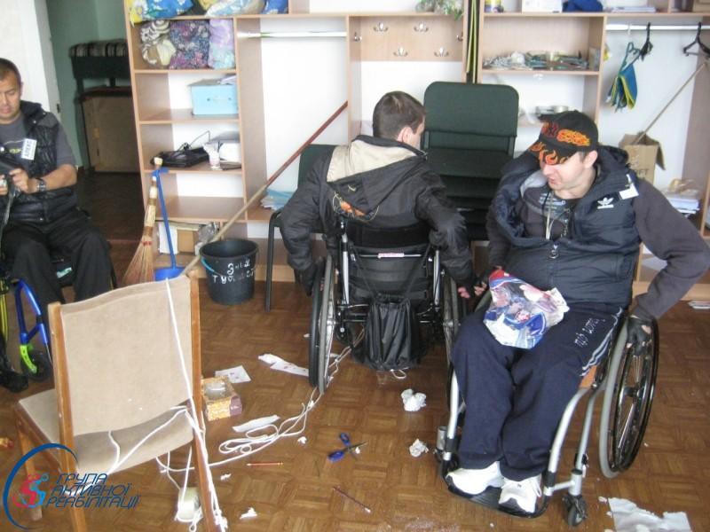 """Впервые в лагере АР в Украине была проведена дисциплина """"Кавардак"""""""