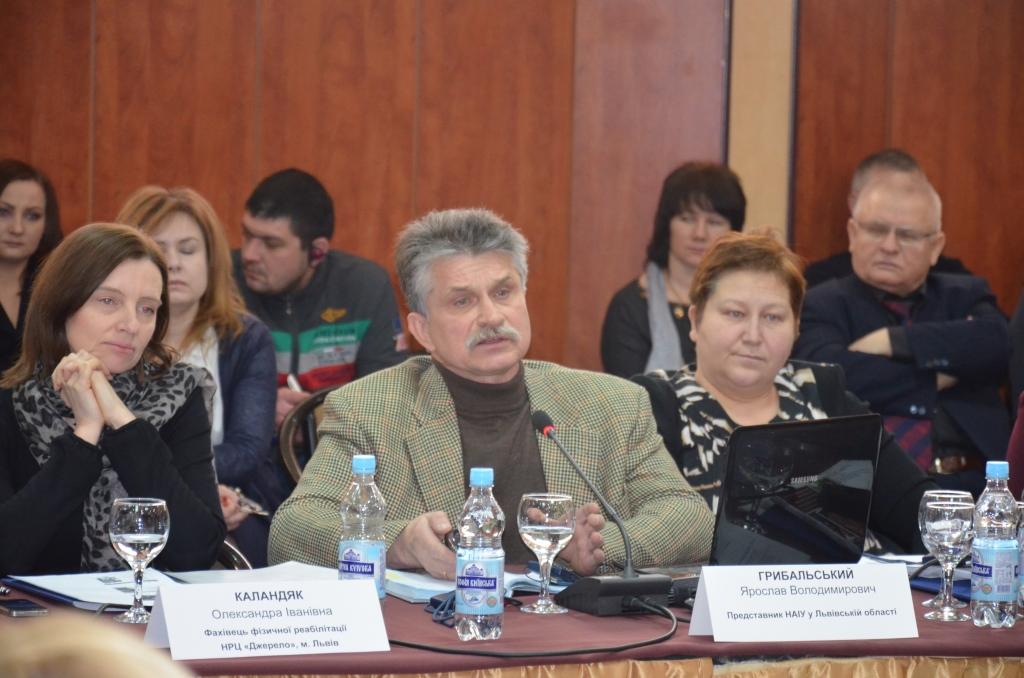 Ярослав Грибальский - Голова Правління ВГОі «ГАР»