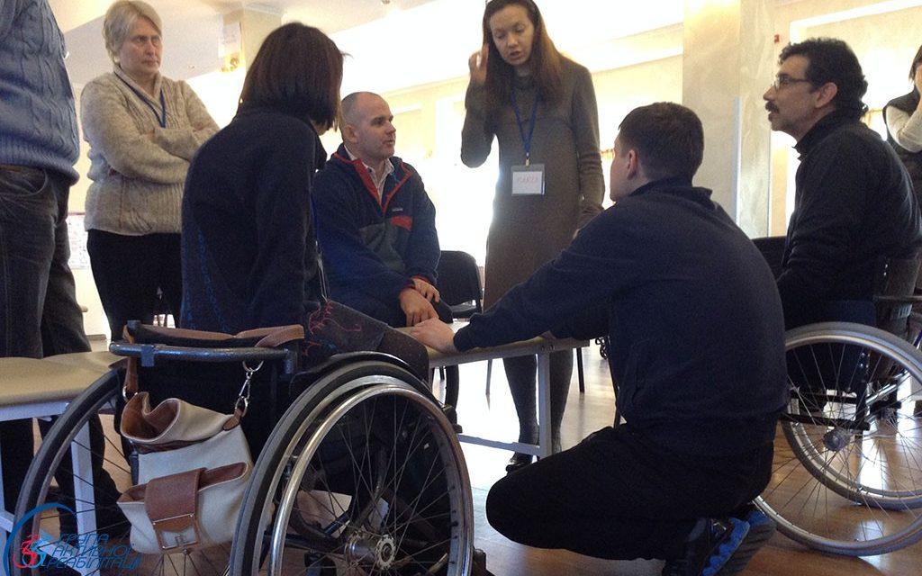 Лідери ГАР пройшли курс ВООЗ по забезпеченню інвалідними колясками