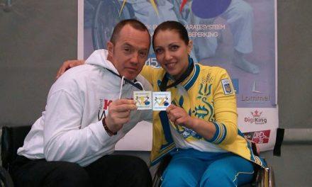 Наша Уляна має срібло на Першому чемпіонаті Європи з інклюзивного карате