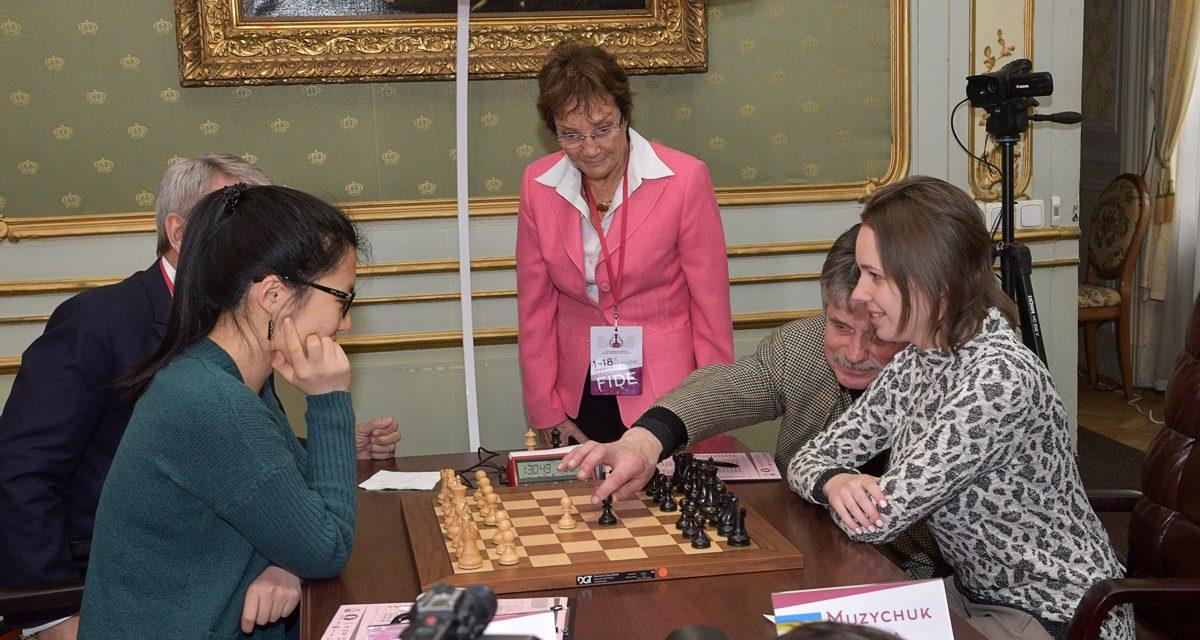 Ярослав Грибальський та Валерій Сушкевич відкрили другий день Чемпіонату світу з шахів
