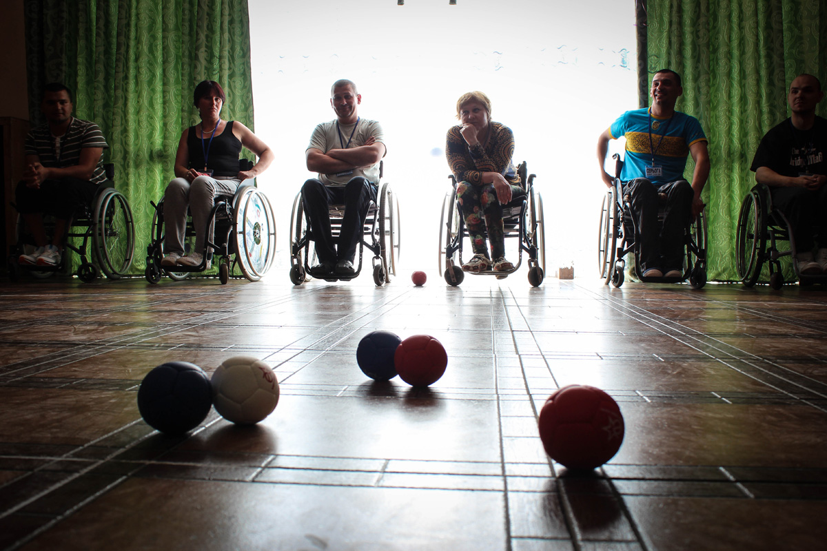 Спортивний день: гра Боча