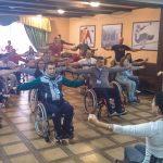 В Західному реабілітаційно-спортивному центрі НКСІУ проходить перший в цьому році табір активної реабілітації