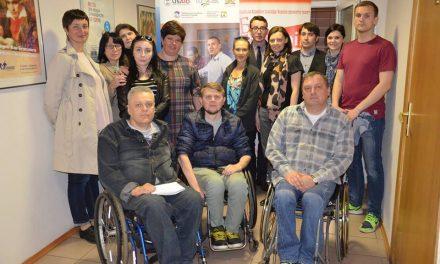 Директорка міжнародних програм організації «UCP Wheels for Humanity» Перс Розен відвідала Україну