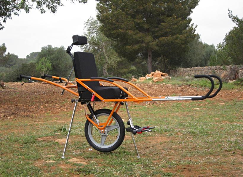 Спеціальна коляска «La Joëlette