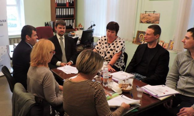 Група активної реабілітації долучилися до робочої групи «Людям з інвалідністю – Європейські стандарти працевлаштування»