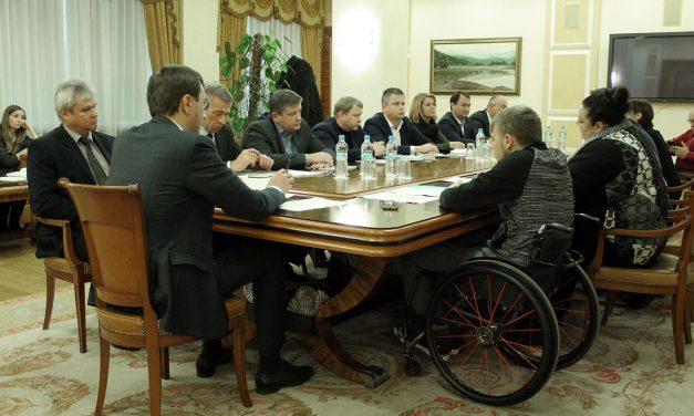 В Мінінфрастуктури відбулася нарада щодо впровадження системи онлайн продажів квитків для людей з інвалідністю в ПАТ «Укрзалізниця»