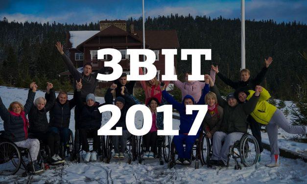 Звіт Громадської організації «Група активної реабілітації» за 2017 рік
