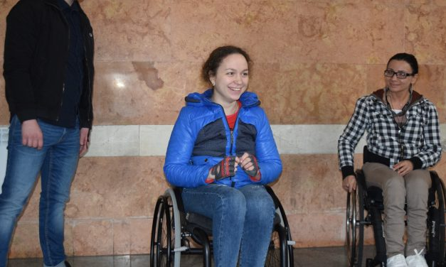Перший «Майстер-клас для користувачів крісел колісних та супроводжуючих»